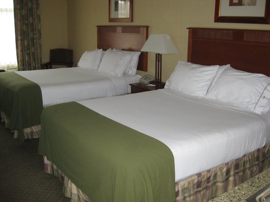 Holiday Inn Express Hotel & Suites Washington: 2-Bett-Zimmer