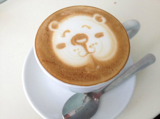 Butter Cake & Coffee Shop: coffee art