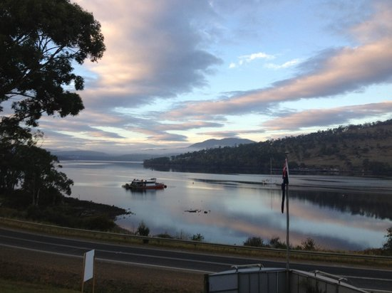 The Port Huon Cottages: From from our front window