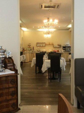 Hotel Beethoven Vienna: Breakfast hall
