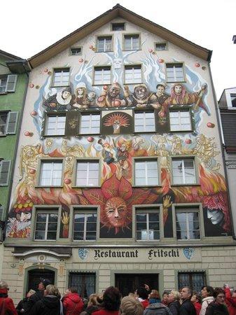 Restaurant Fritschi: Фасад днем