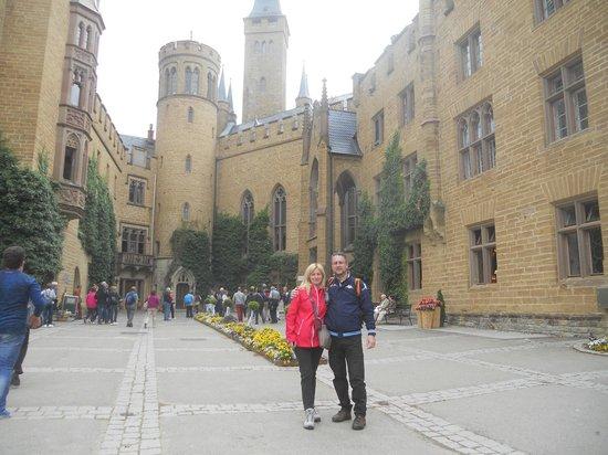 Burg Hohenzollern: corte centrale