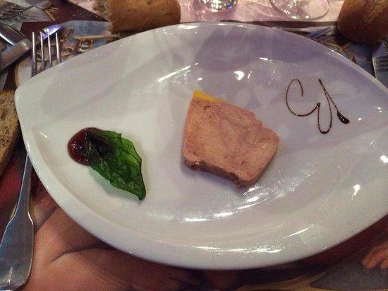 Le Baroque : Foie gras mi cuit
