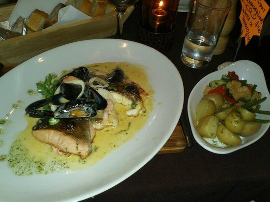 Roseville Bistro: Trio of fish