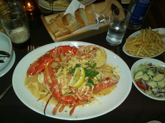 Roseville Bistro: Jersey Lobster Thermidor