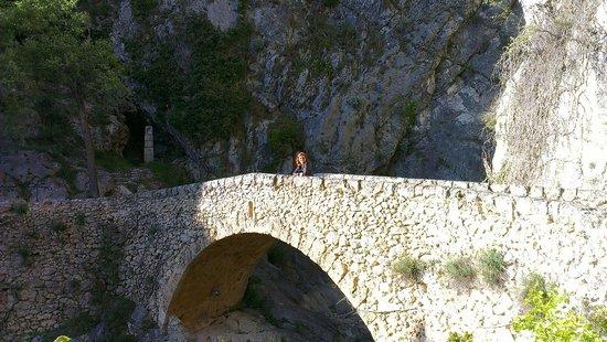 le colombier : Montée à la chapelle