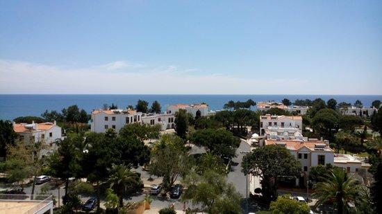 Alfagar II Aparthotel : Wonderful to see the sea