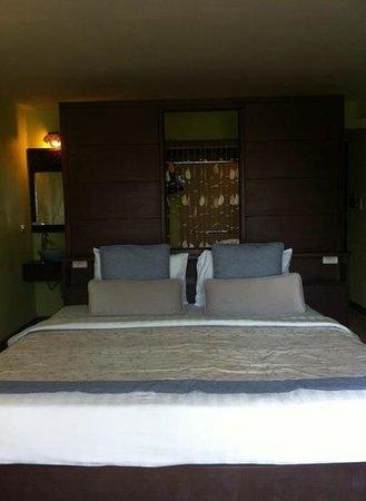 Phra Nang Inn : my comfy bed!