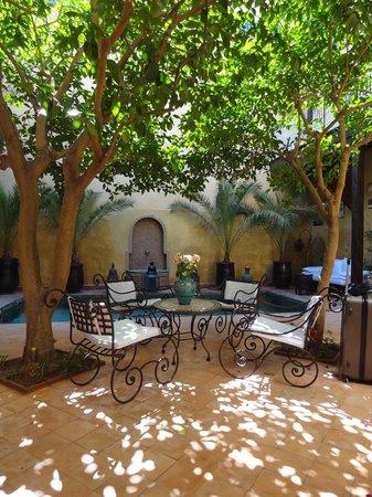 Riad du Petit Prince: Coin détente dans le Patio