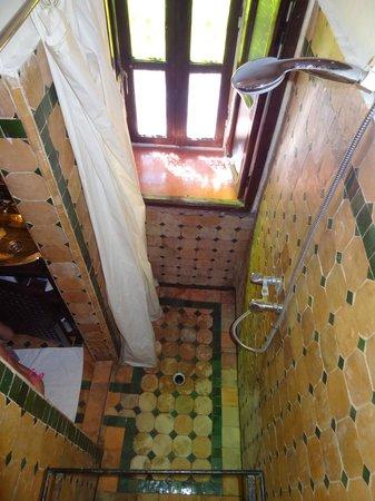 Riad du Petit Prince: Douche