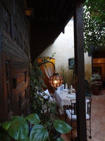 Riad du Petit Prince: Repas