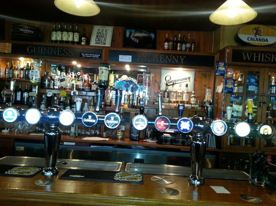 Charly O'Neills Irish Bar: Charly O'Neills: draft beer selection