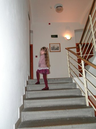 Andel: Лестница отеля