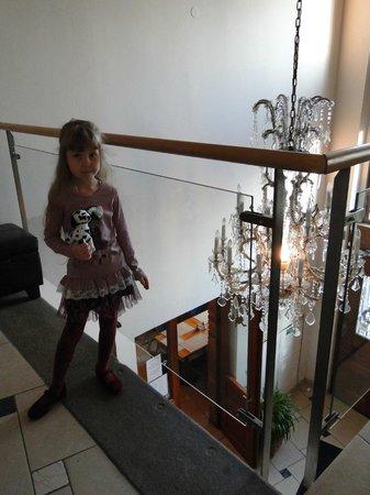 Andel: Лестница в отеле