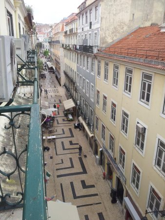 Hotel LX Rossio: View from the balcony