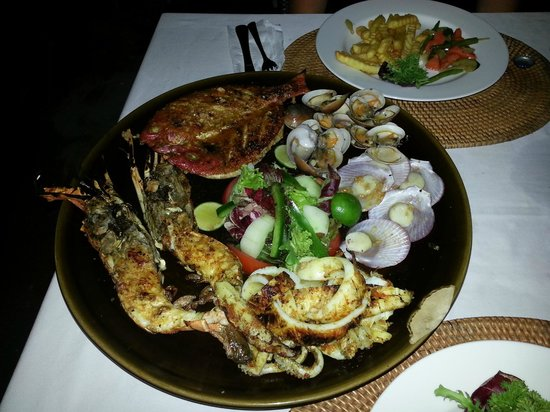Sand Beach Club & Restaurant: Sea food deluxe for 2 people