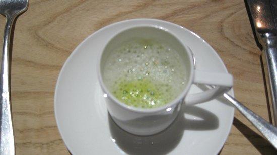 Springfontein Eats: The mint, pea and salt soup