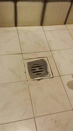 Hotel Urbis: Scarico della doccia