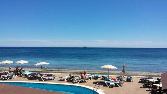 Apartamentos Sal Rossa Ibiza : Appartement vue sur mer