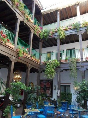 El Rey Moro Hotel Boutique Sevilla : Vue du patio