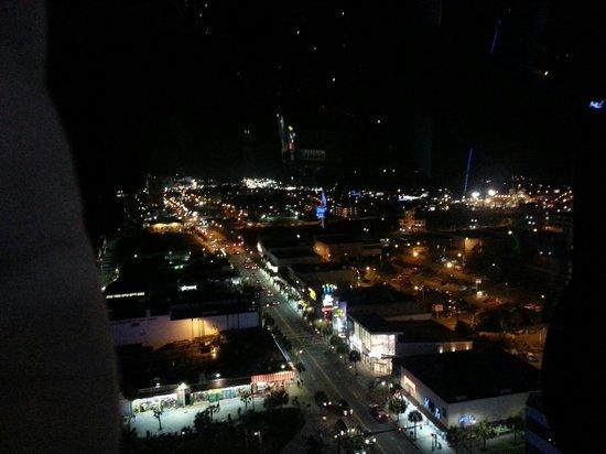 Myrtle Beach SkyWheel: Looking South from top of Skywheel
