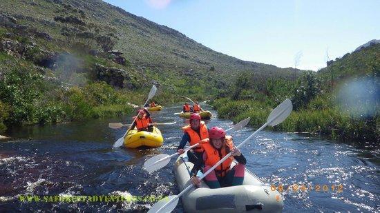 SA Forest Adventures Kleinmond: Flowing down stream