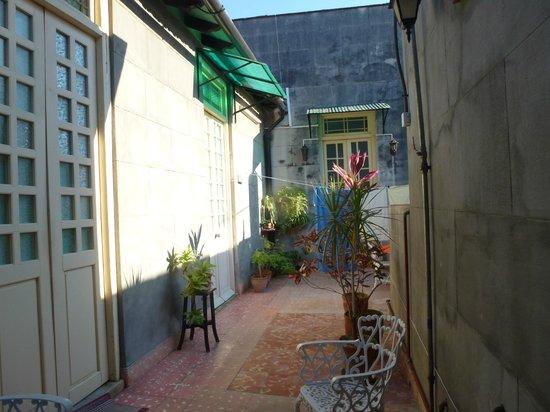 Casa Marianela y Luis: Patio