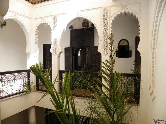 Dar Fangui: L'étage avec les chambres