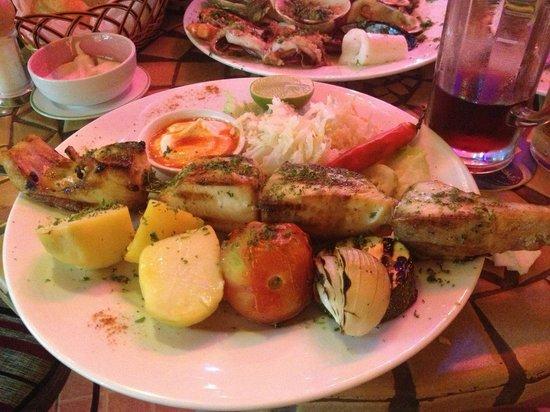 La Mancha Restaurant: шашлык