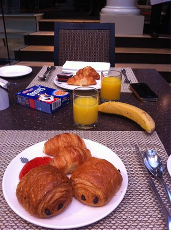 Le Meridien Piccadilly : Petit déjeuner