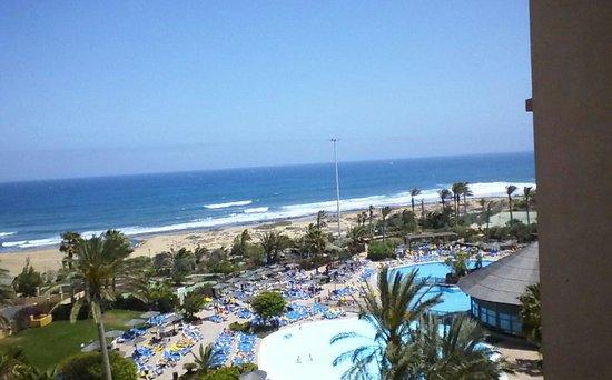 Hotel Elba Sara : view from room 610
