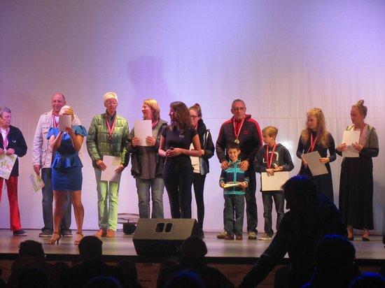 Papillon Belvil Hotel: remise des médailles des animations du jour