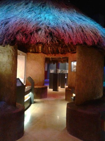 Museo de Prehistoria y Arqueologia de Cantabria: Traditional Cantabrian hut