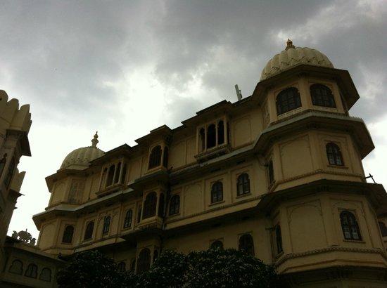 Fateh Prakash Palace: A rainy day in Udaipur