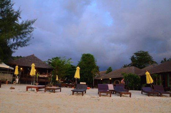 Anda Resort : View from the beach