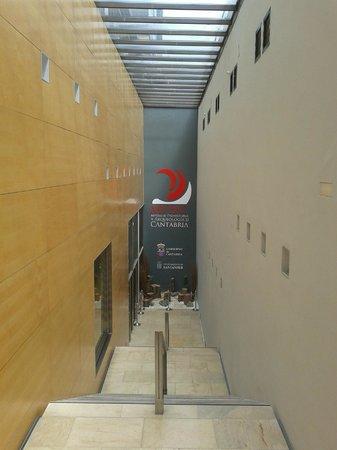 Museo de Prehistoria y Arqueologia de Cantabria: Entrance to the MUPAC