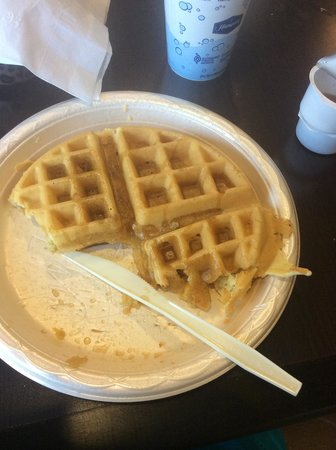 Hampton Inn Tampa / Rocky Point - Airport: Waffles at breakfast