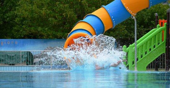 Camping Village Lago Maggiore: Water game
