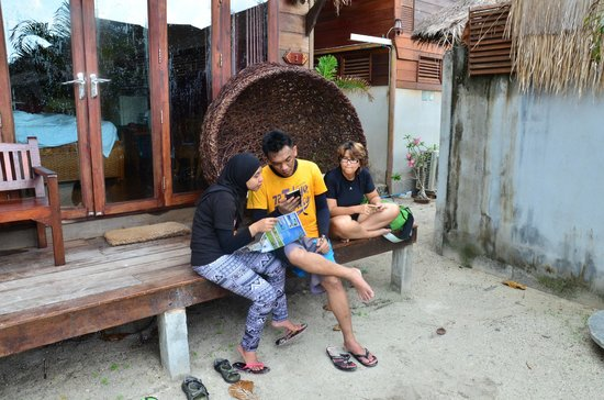 Anda Resort: varendah unit we stayed