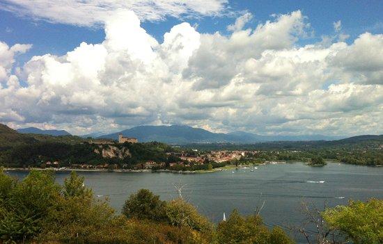 Camping Village Lago Maggiore: view from Arona