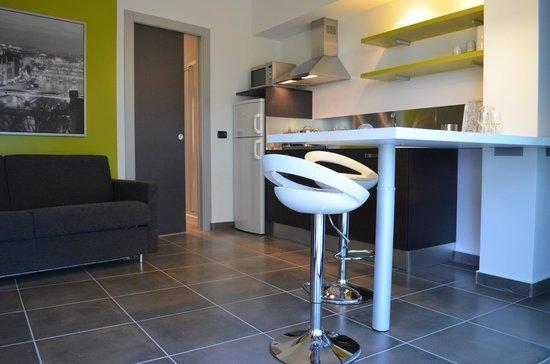 Camping Village Lago Maggiore: Internal apartment