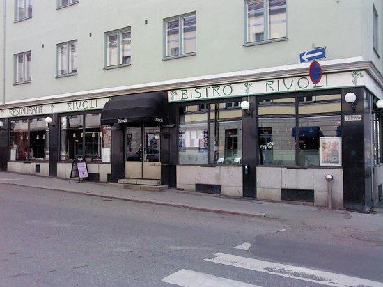Restaurant Rivoli: Фасад Ресторана-бистро Rivoli