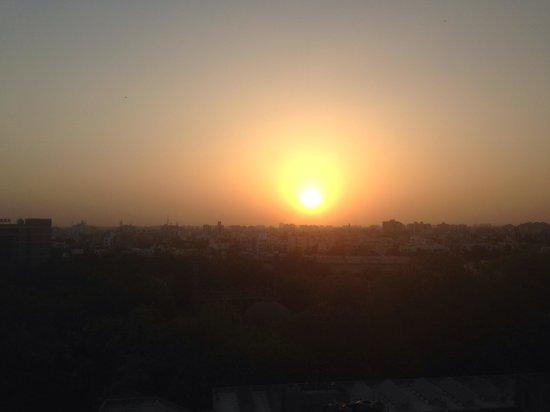 Fortune Hotel Landmark : Beautiful sunset