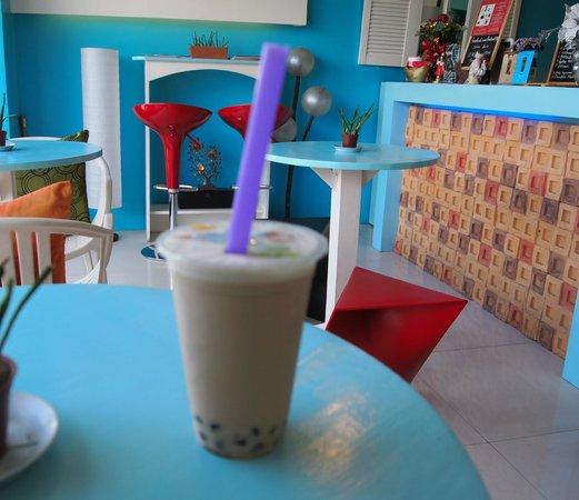 Tealeaf Philippines : Wintermelon milk tea