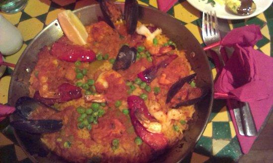 Kasbah Cafe Bazaar: My delicious Moroccan Paella
