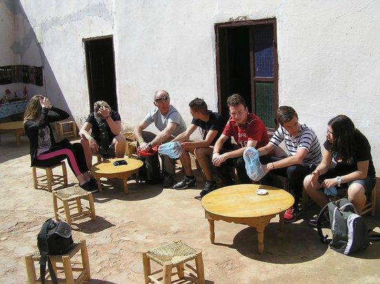 Marrakech Quad Evasion : pose whisky berbere