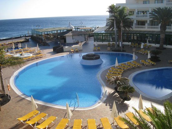 IBEROSTAR Lanzarote Park: view from room at 8pm