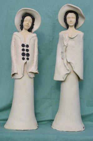 Adamieion Ceramic Art Studio: ceramic dolls