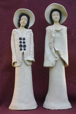 Adamieion Ceramic Art Studio: ceramic dolls