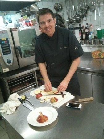 Hotel Vista Allegra: THE amazing cook (Martin Poeder, family member)